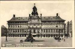 Hotel de Ville, Fontaine Brabo