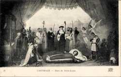 Mort de Saint Louis