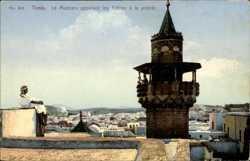 Le Muezzin appelant les fideles a la priere