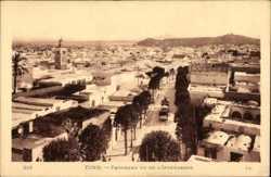 Panorama vu de l'Intendance