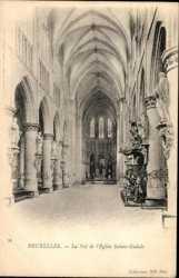 La Nef de Eglise Sainte Gudule