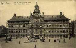 Hotel de Ville et Fontaine Brabo