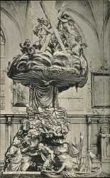la Chaire de Eglise St. Andre
