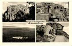Felsen, Burganlage