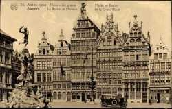 Brabo, Maison de la Grand'Place