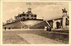 Chalet Royal et le monument Leopold II