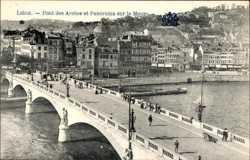 Pont des Arches, Panorama sur la Meuse
