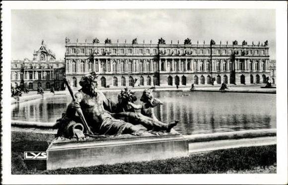 10 alte ansichtskarten versailles yvelines diverse for Versailles yvelines